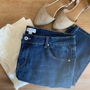 Denim - Just Jeans size 16 straight leg jeans